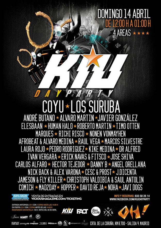 KIU Day Party en la sala OH!