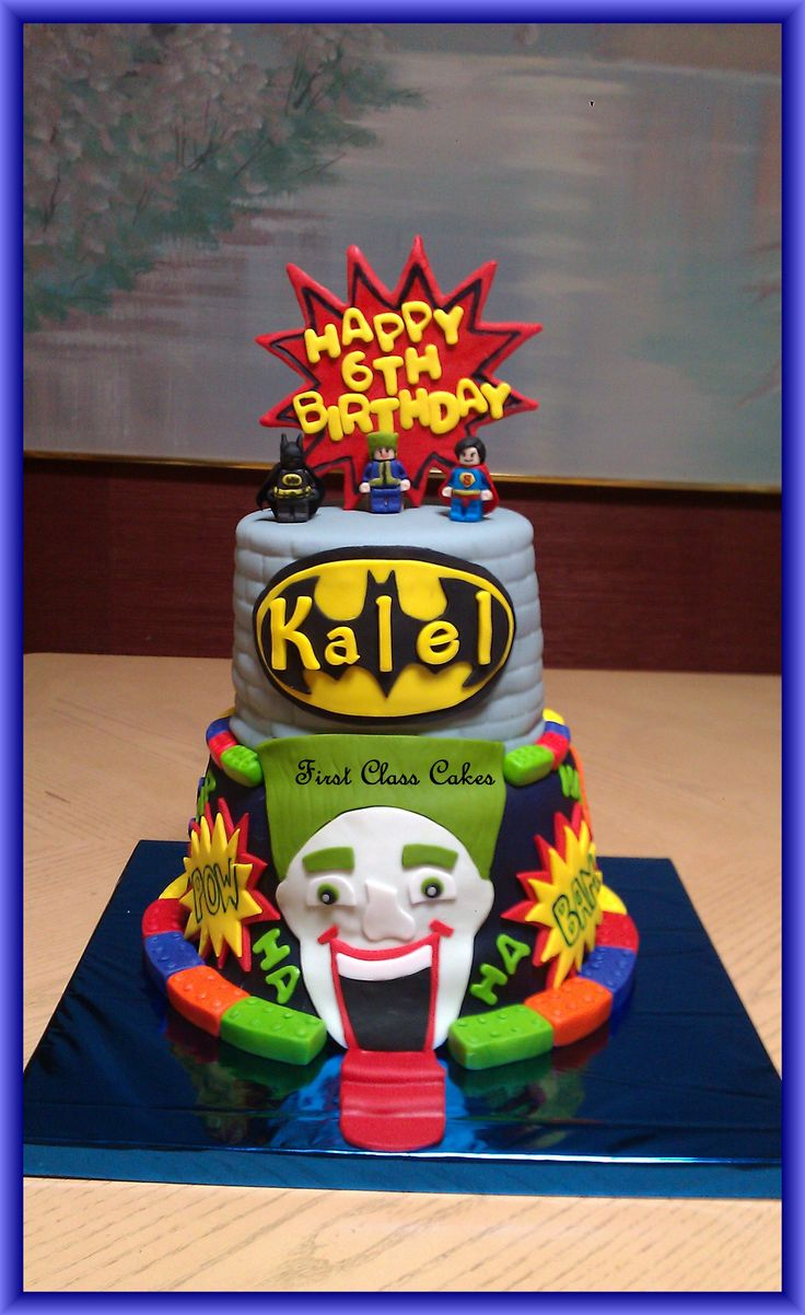 1000 ideas about superman cakes on pinterest batman cakes - Lego Batman Cake Lego Batman Cake Bottom Tier Was Wasc Cake W