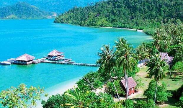 Kawasan wisata Mandeh Painan Sumatera Barat