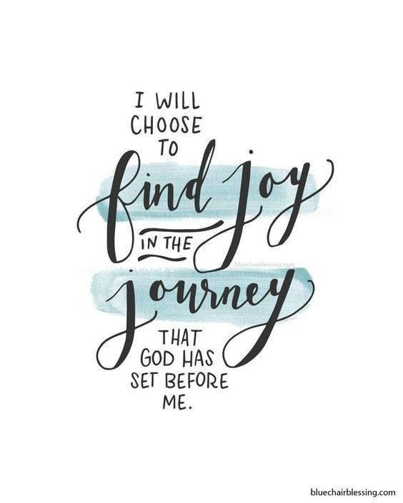 Amen Yes I Will I Will Choose To Find Joy In The Journey That