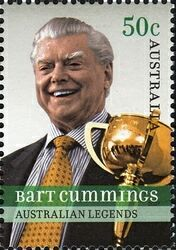 BART CUMMINGS ~ (born 14 November 1927) is one of the most successful Australian racehorse trainers. He is known as the Cups King, referring to the Melbourne Cup, as he has won 'the race that stops a nation' a record twelve times.