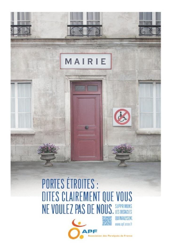 APF - L'Association des Paralysés de France - Les obstacles