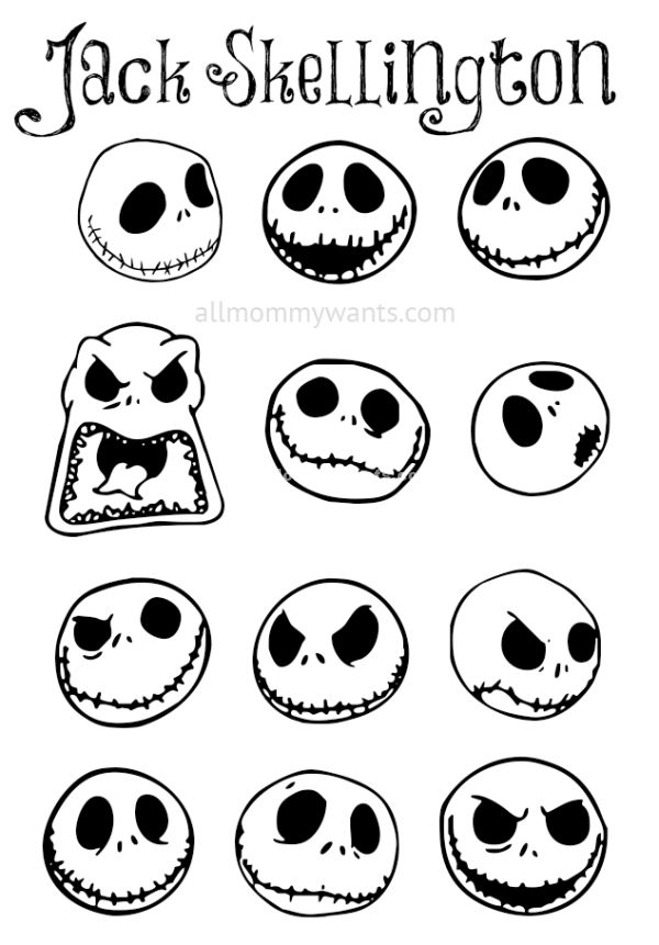 Best 25 Jack Skellington Pumpkin Ideas On Pinterest