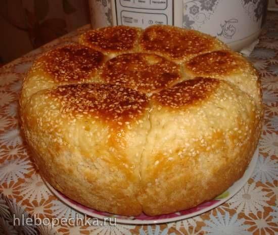 """Хлеб """"Ромашка"""" в мультиварке Polaris 0508D floris"""