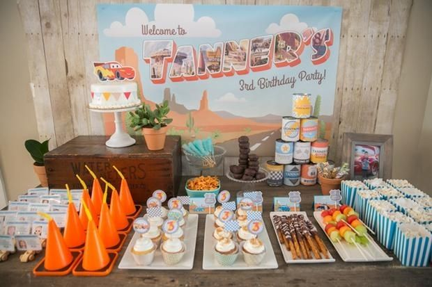 Tanner's Radiator Springs Birthday Party