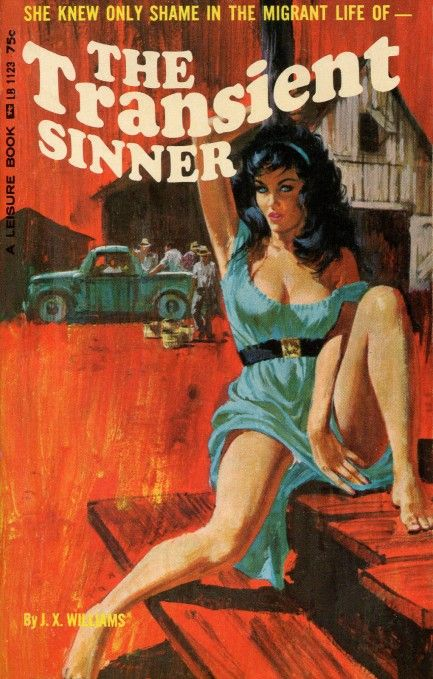 The Transient Sinner #pulp #art - where is all this quality literature?