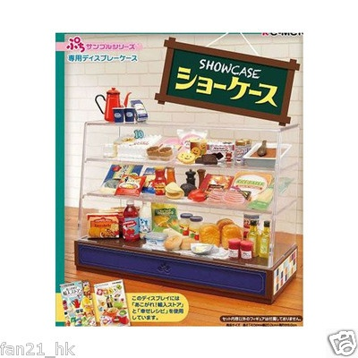 Re ment Cake Bread Cookie Sweets Display Show Case 2013 Version 2 Stickers | eBay -