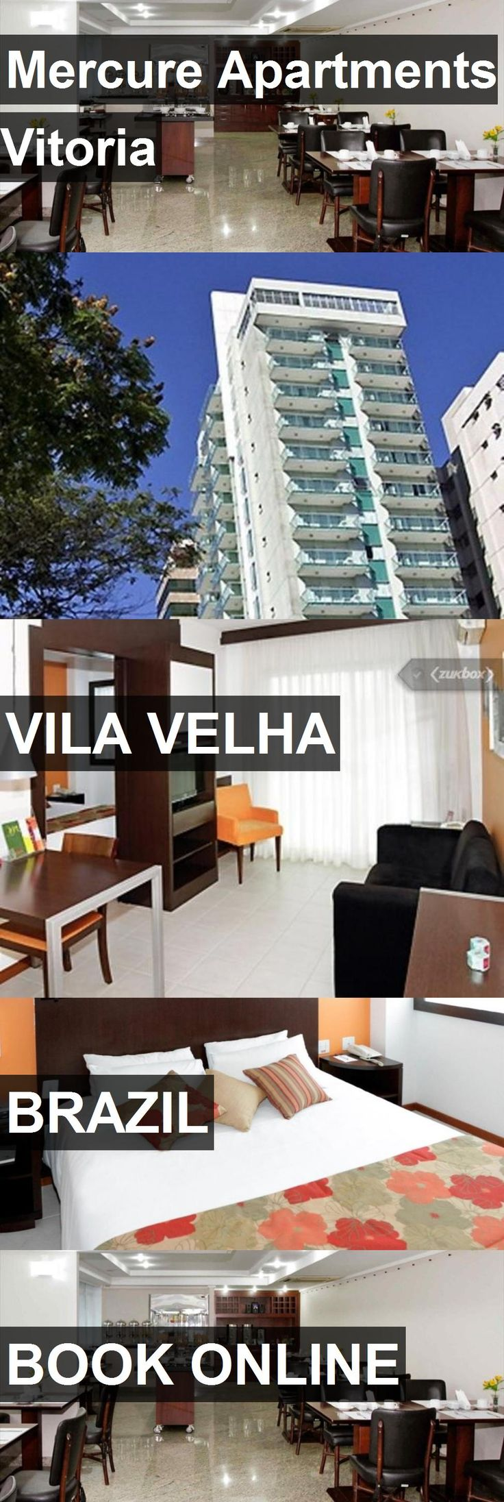 Mercure Apartments Vitoria in Vila Velha, Brazil. For more information, photos, reviews and best prices please follow the link. #Brazil #VilaVelha #travel #vacation #apartment