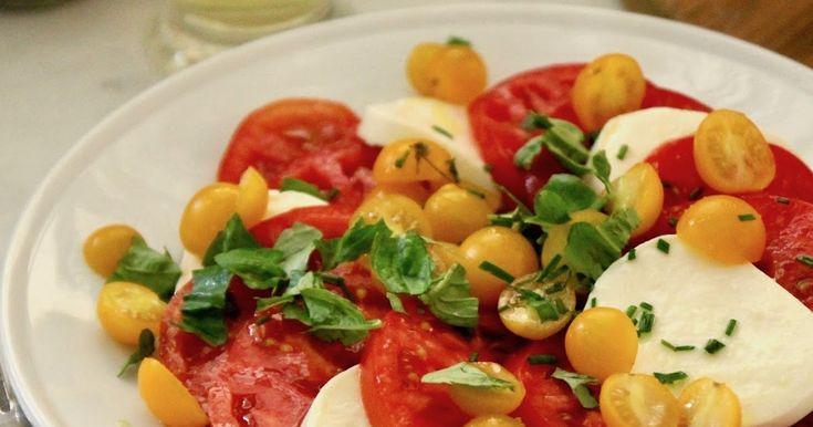 Jenny Steffens Hobick: Tomato & Mozzarella Salad with Fresh Basil