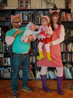 Halloween 2014 inspiration: peppa pig family