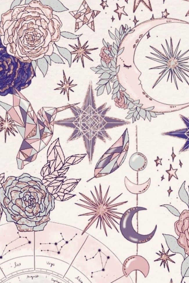 Pastel Dreams Witchy Wallpaper Artsy Background Wallpaper Iphone Cute