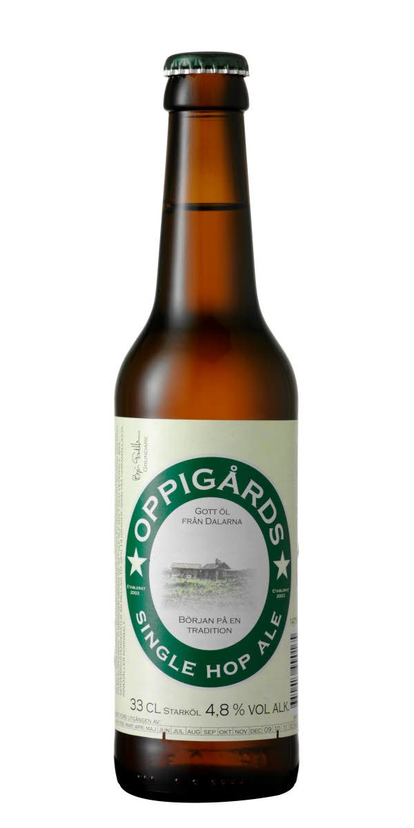 Som namnet antyder så är det bara en humlesort - en variant av Styrian goldings som tillsammans med en stor andel vetemalt ger ett friskt, blommigt öl med lite mindre men markerad beska.
