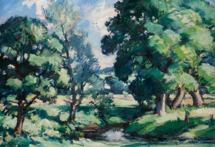 New Abbey, Dumfriesshire (Summer) 1926 - Samuel John Peploe