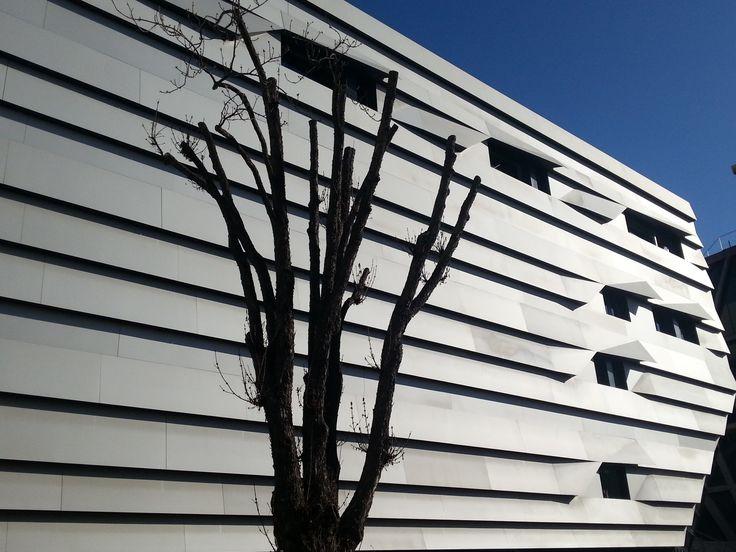 Conservatoire d'Aix-en-provence par kengo Kuma by AyniArt