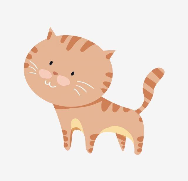 Cartoon Lovely Cute Animal Kitten Illustration Lovely Png Transparent Clipart Image And Psd File For Free
