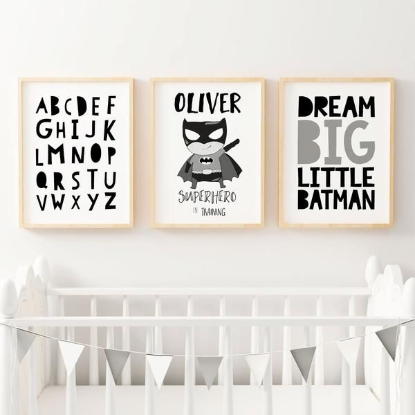 Kids Personalized Wall Art Under $50
