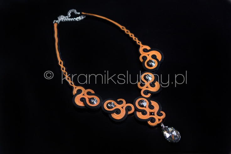 neckles with svarovski crystal elements