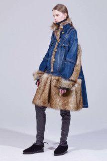 Sacai коллекция | Коллекции осень-зима 2018/2019 | Париж | VOGUE