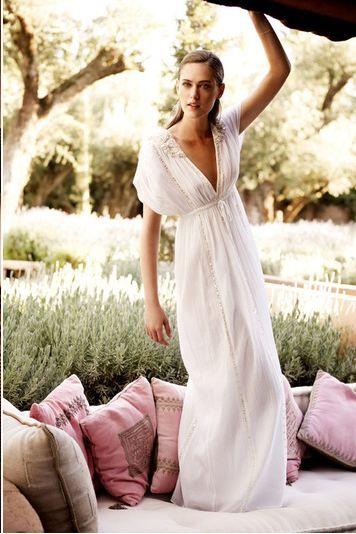 Summer maxi dress.