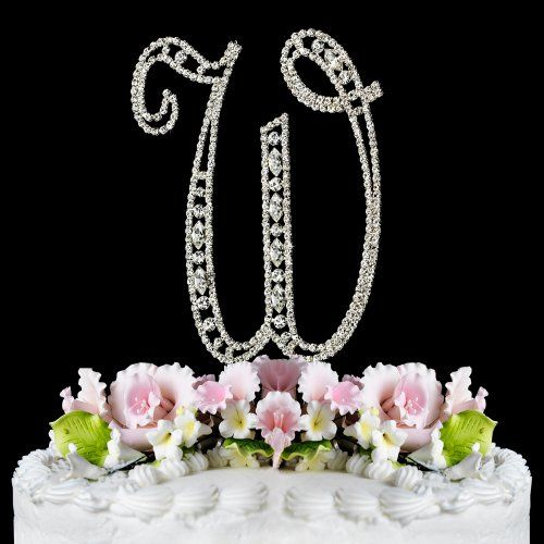 Discount Monogram Cake Toppers