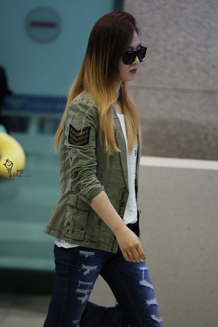 snsd yuri airport fashion 2014 airport fashion