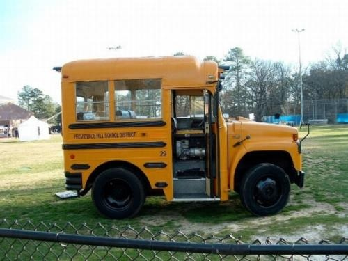 I wanna take my kids to school in this...: