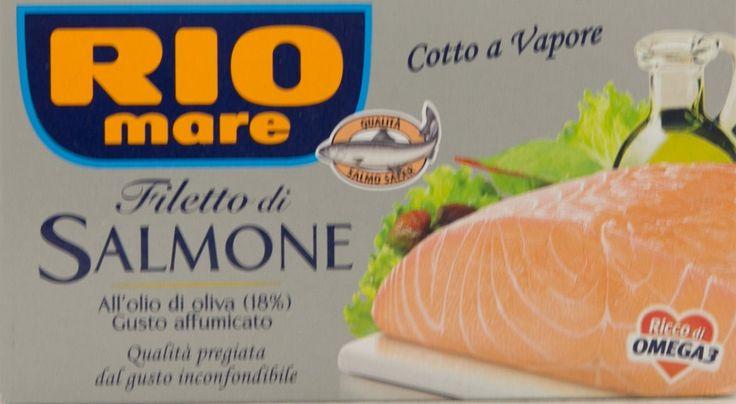RECENSIONE:Filetto di Salmone Rio Mare all'olio di oliva