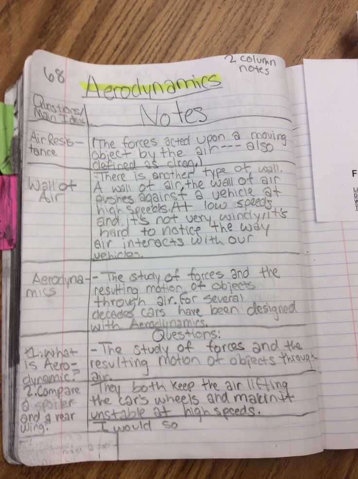 Classroom Layout Ideas Elementary ~ Avid elementary students creating two column notes