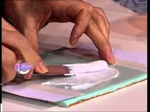 Mirta Biscardi - Bienvenidas TV - Torta Vintage - YouTube