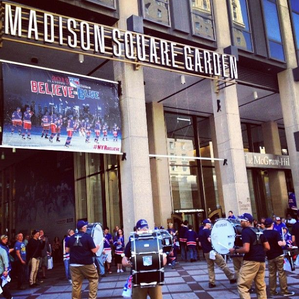 Madison Square Garden - New York. I got to see my daughter dance here!