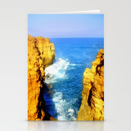 Limestone Cliffs, Sunset, Reflecting light, Oceans, Sea, Horizon, Waves, Great Southern Ocean, Australia.