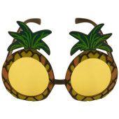 Tropical Pineapple Hawaiian Fancy Dress Glasses
