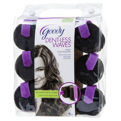 Goody® Dent-less Waves™ Large Foam Rollers 9ct - Wonder if these will work on thick hair?