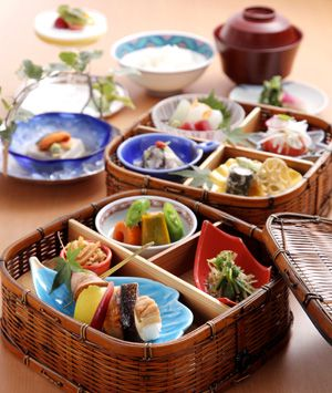 I want dishes for authentic Japanese cuisine.