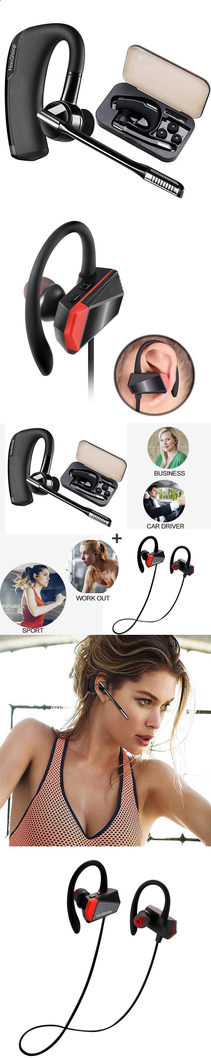 Sports Headphones - bluetooth earphones Car Driver Bluetooth Headphones Compatible with iPhone bluetooth Workout Earphones Sport headphones - If you usually go out to run, walk or any other sport in which you usually carry music to accompany or motivate you, we have selected 13 models of sports headphones that we consider among the best in the market for different aspects, from comfort to use to design, sound quality or value for money, so that you find variety and can adjust the model...
