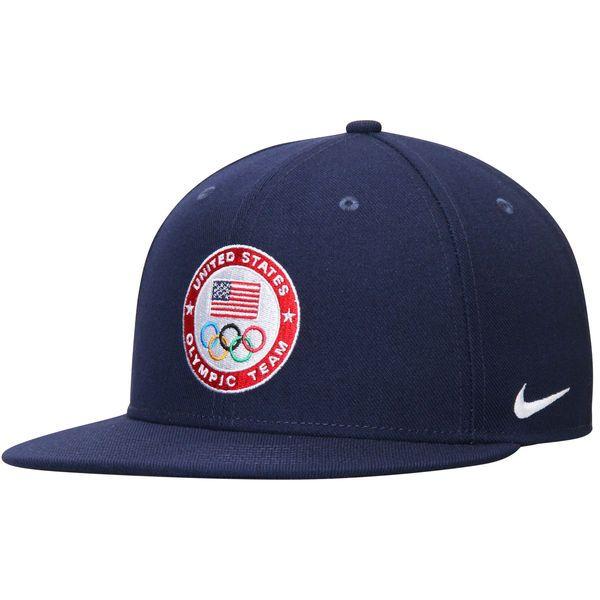 Team USA Nike Core True Snapback Adjustable Hat - Navy - $27.99