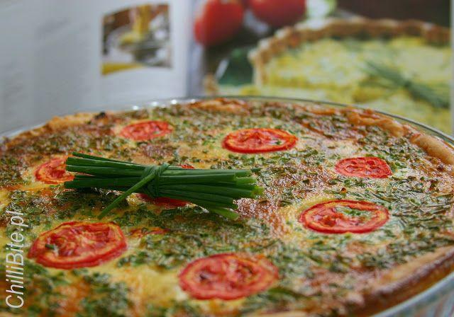 ChilliBite.pl - motywuje do gotowania!: Tarta z żółtej cukinii - moja ukochana