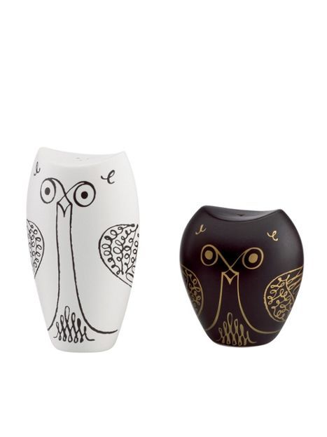 50 best images about owl salt and pepper shakers on pinterest pewter owl wedding and natural life - Owl salt and pepper grinders ...