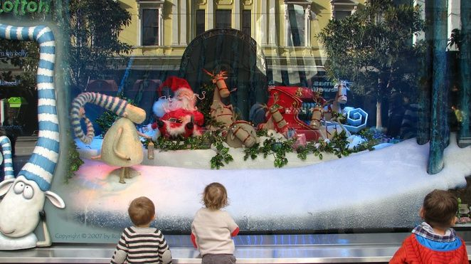 2013 Myer Christmas Windows - Melbourne