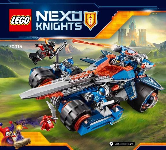 Nexo Knights - Clay's Rumble Blade [Lego 70315]