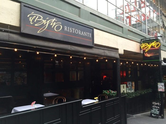 1.  Il Bistro, 93 Pike St., Seattle