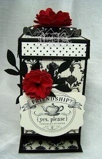 * Luv 2 Cre8 With U! *: Modern Medley Tea Bag Holder