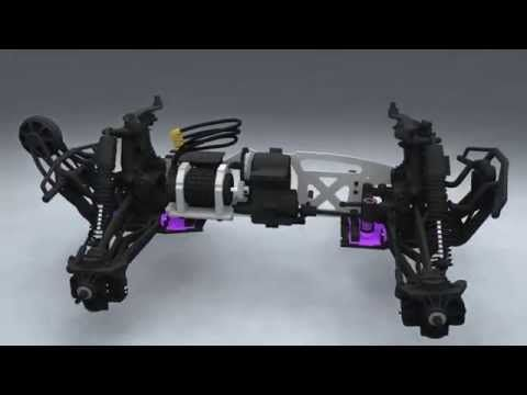HPI Savage Flux 3D construction animation - YouTube