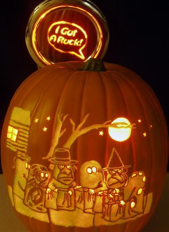Best images about it s the great pumpkin carvings