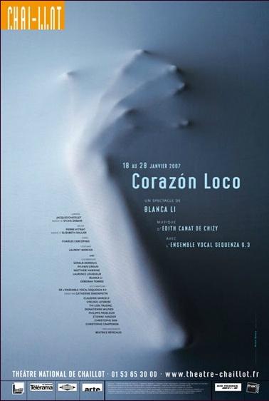 Corazon loco - Poster design - Michal Batory