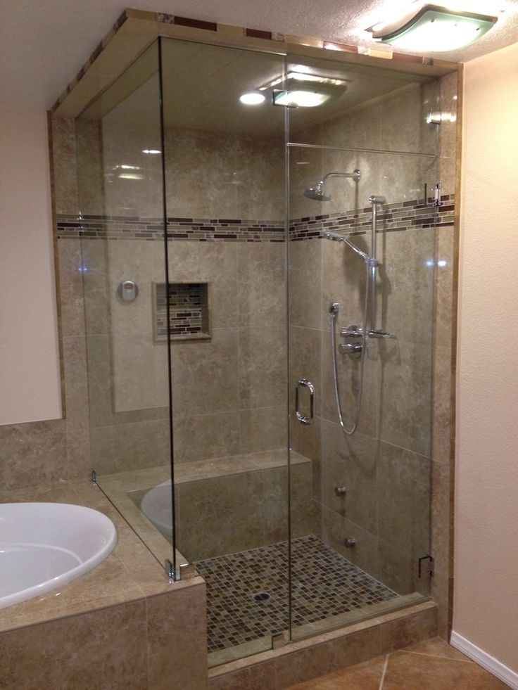 Custom Steam Showers jpg Bathroom shower doors, Shower