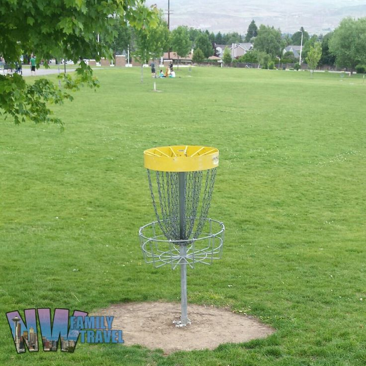 #DiscGolf is a great family activity.  It doesn't take a big space commitment when traveling either.  You can always squeeze in an extra #Frisbee or two.