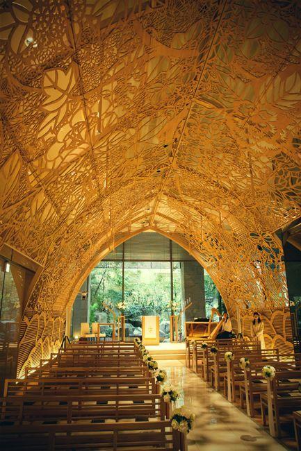 広島 木もれ陽のチャペル 結婚式 撮影