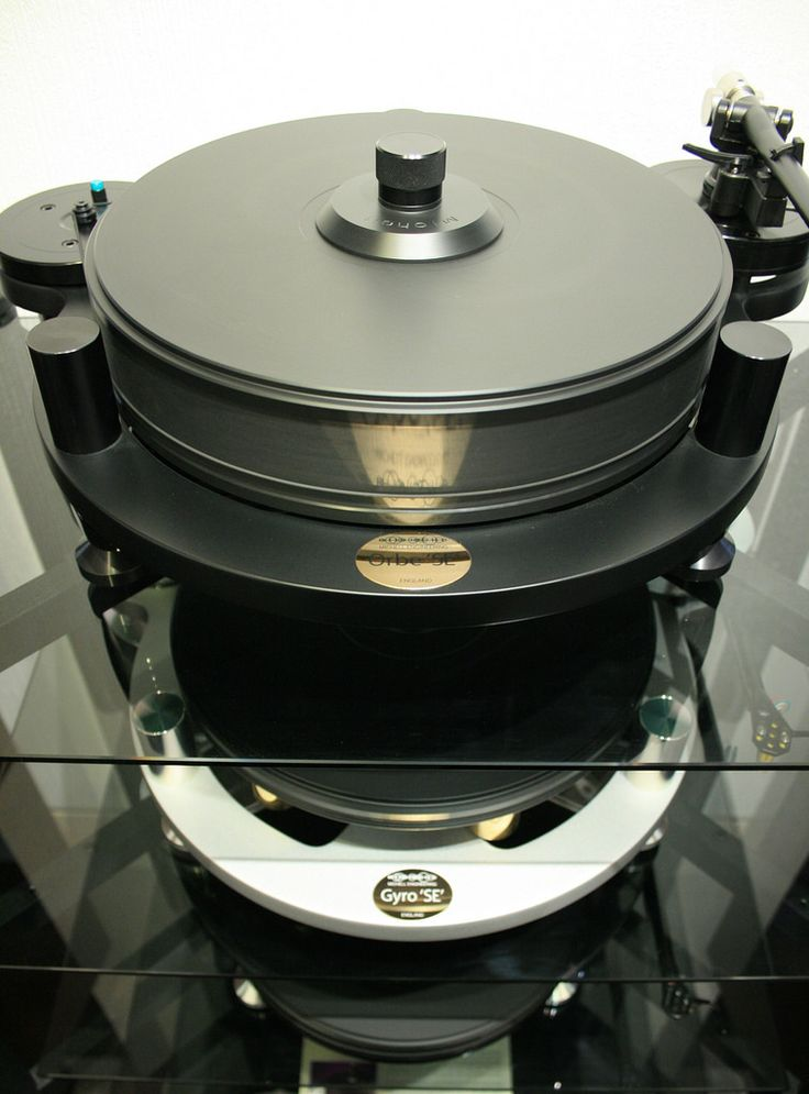 From top to bottom: the Orbe SE, the Gyro SE, and the TecnoDec Turntables