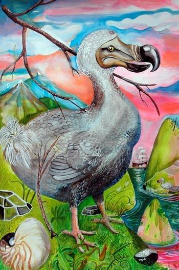 Wesley Younie Artist  - Dodo bird extinction approaches